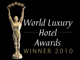 2010 World Luxury Hotel Awards Winner